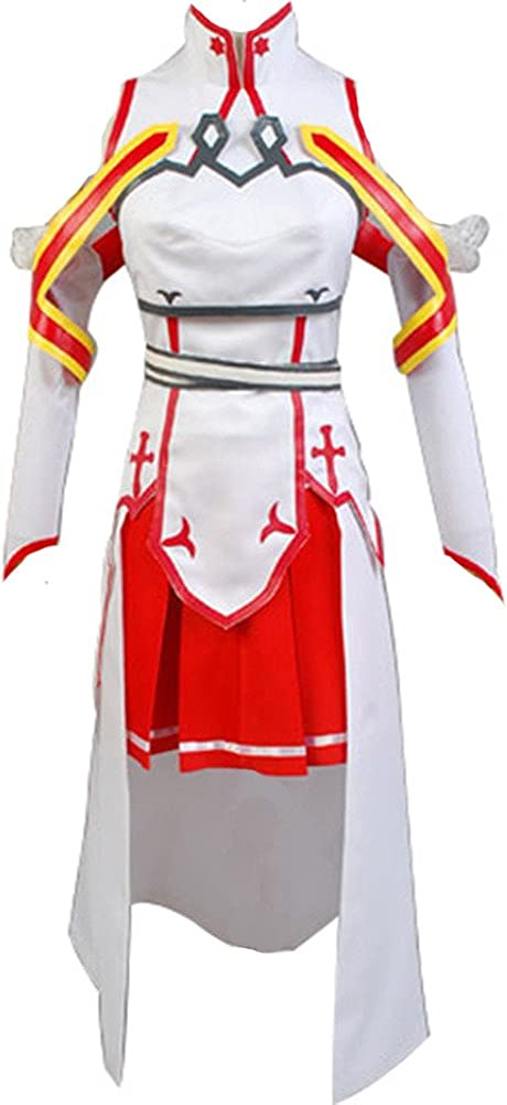 Regular dealer Cosplaysky Sword Art Online Costume Dres Cosplay sale Asuna Halloween
