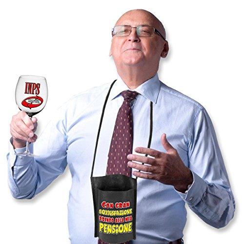 Bombo Bicchiere per la Pensione con portabicchiere