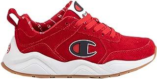 Champion Boy's 93Eighteen Big C Leather Sneaker