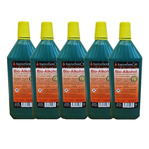 Kaminbau Mierzwa ( df-shopping ) Caminetto a etanolo e gel, modello Tornado Deluxe, colore a scelta (opzione supplementare 5 litri di etanolo)