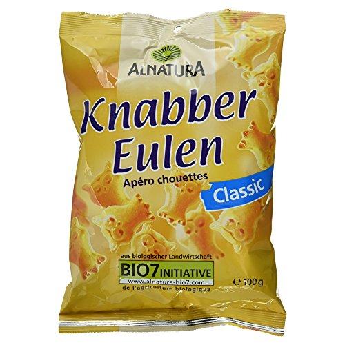 Alnatura Bio Knabber-Eulen, 7er Pack (7 x 100 g)