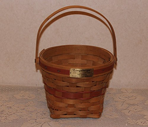 Longaberger 1988 Poinsettia Basket - Christmas Collection