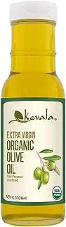 Kevala Extra Virgin Organic Olive Oil, 8 Ounce