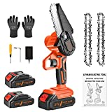 Best Chainsaws - TNEIIA Mini Electric Chainsaw, 4 Inch Portable Handheld Review
