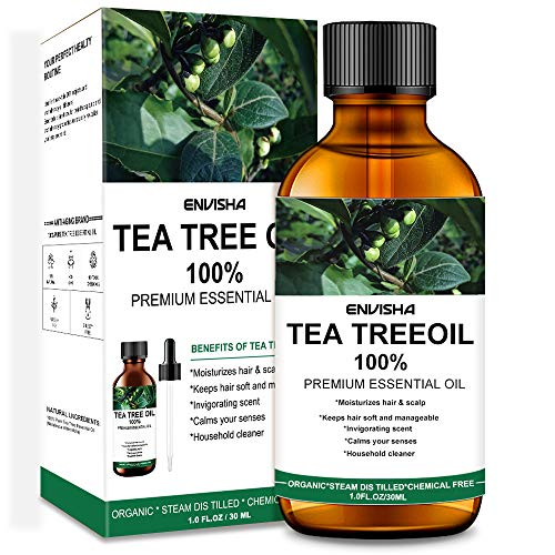 Envisha Tea Tree Oil - 100% Pure & Natural Essential Oil, Perfect for Aromatherapy, Relaxation & More!
