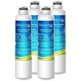 Waterdrop DA29-00020B Refrigerator Water Filter, Compatible with Samsung DA29-00020B, DA29-00020A, HAF-CIN/EXP, 46-9101, Standard, Pack of 4