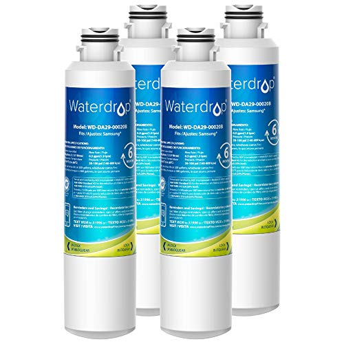 Waterdrop DA29-00020B Refrigerator Water Filter, Replacement for...