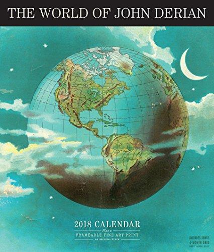 The World of John Derian 2018 Calendar: Plus a Frameable Fine Art Print on Archival Stock