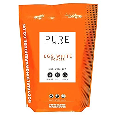 Bodybuilding Warehouse Pure Egg White Powder/Unflavoured (1kg)