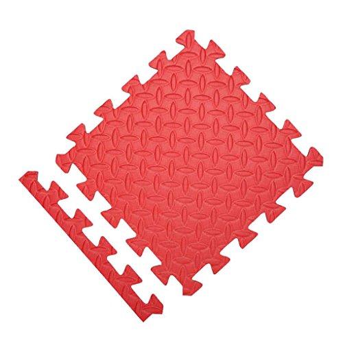 ELENXS 9pcs bébé Jouer Crawling Floor Pad Sets Mousse Tapis Puzzle Mat