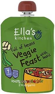 Ella's Kitchen Veggie Feast With Basil, 7+ Months, 130g