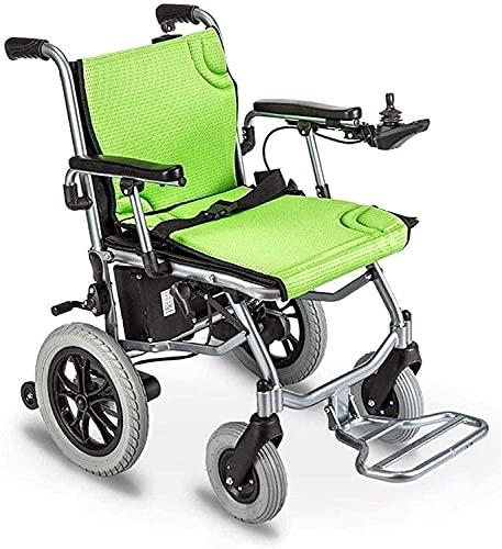 Elektrorollstuhl,Rollstuhl Zusammenklappbar,Elektrorollstuhl Dual Control System,Leicht Manueller Elektrisch Schaltender Doppelmotor Für Ältere Menschen(Color:A)