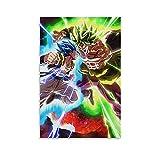 YRETW Anime-Poster Gogeta Dragonball Poster Dekorative