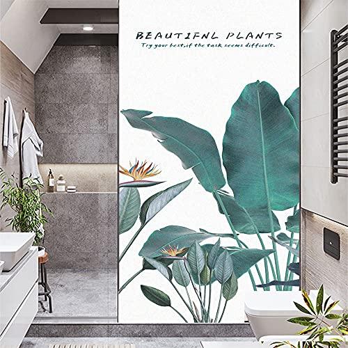 Lámina de privacidad para ventana, diseño de mosaico esmerilado, autoadhesivo, adhesivo decorativo para ventana, 16,5 x 55,1 (42 x 140 cm)