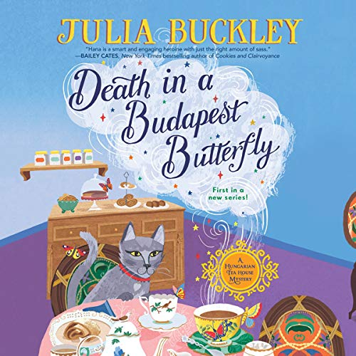 Death in a Budapest Butterfly audiobook cover art