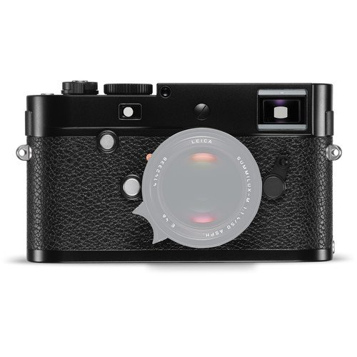 Leica M-P MILC Body 24MP CMOS 5952 x 3976Pixel Schwarz - Digitalkameras (24 MP, 5952 x 3976 Pixel, CMOS, Full HD, 680 g, Schwarz)