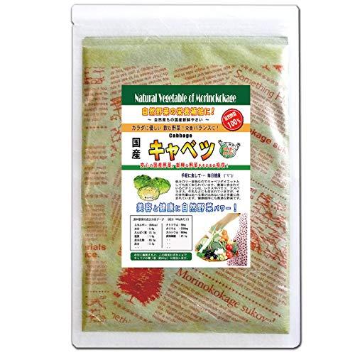 森のこかげ きゃべつ 国産 野菜 粉末 パウダー 100g