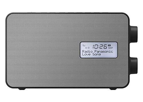 Panasonic RF-D30BTEG-K Digitalradio mit Bluetooth (DAB+, UKW, Netz und Batteriebetrieb, Spritzwasserschutz, AUX, Weckfunktion, Küchentimer) schwarz