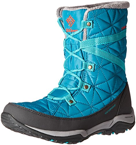 Columbia Loveland MID Omni-Heat-W, Damen Stiefel & Stiefeletten, Rot - blau/orange (Sea Level/Spicy)...