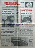 NOUVELLE REPUBLIQUE LOIR ET CHER (LA) [No 11005] du 13/12/1980 - un coup de massue plus qu'un coup de pouce - les tarifs du gaz -...