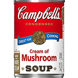 Campbell's Condensed Soup, Cream of Mushroom, 10.5 oz