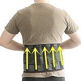Faja médica para la espalda, cinturón de apoyo para la columna vertebral, cinturón para hombres y mujeres, cinturón transpirable, corsé lumbar, dispositivo ortopédico ortopédico y soporte