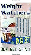 Weight Watchers Box Set 5 in 1: 25 Weight Watchers Salads + 23 Weight Watchers Snacks+24 Weight Watchers Desserts+ 77 Weig...