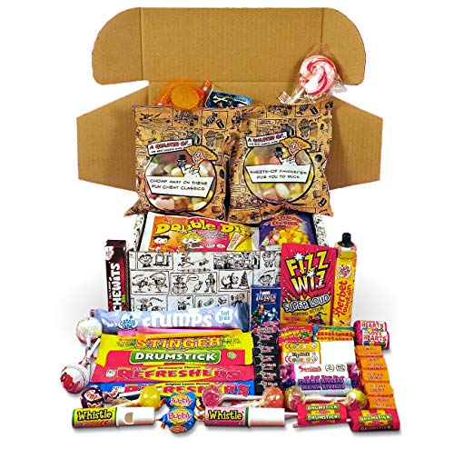 Best Retro Sweets Cartoon Box Selection - Your...