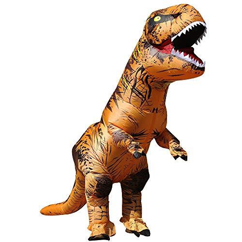 恐竜の服 コスプレ恐竜大人 空気が入った服 恐竜 コスチューム 恐竜コスプレ 大人 ティラノサウルスの衣装ハロウィンコスプレコスチューム大人の服