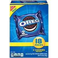4 Boxes of 18-Pack Oreo Chocolate Sandwich Cookies