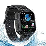 Kids Waterproof Smart Watch Phone,Smartwatch for Children's with Tracker Touch Screen SOS Camera Alarm Clock Games for 3-14 Years Old Boys Girls Students Birthday Gifts
