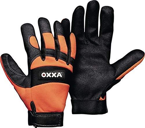 OXXA Handschuhe X-MECH Gr.9 schwarz/Fluo-orange Armor Skin® Kat.II, 1 Paar