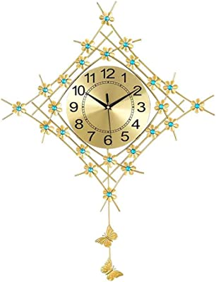 LHVCLOCK Wall Clock Table Living Room Home Wall Clock Personality Art Decorative Wall Clock