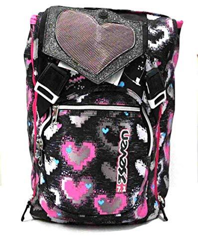 26L Zaino Blunt Heart girl lilla Perfetto per le scuole elementari. Tasca interna porta tablet