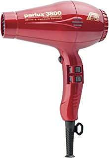 Parlux 3800 Eco Friendly Ceramic Ionic Hair Dryer - Red