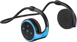Ronyme Fones de Ouvido de Condução óssea Microfone Sem Fio Bluetooth 5.0 Fones de Ouvido Esportivos para - Azul