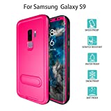 Redpepper-Waterproof Case for Samsung Galaxy S9 Snowproof Shockproof DirtProof Full Sealed Underwater Protective Cover Case (Pink)