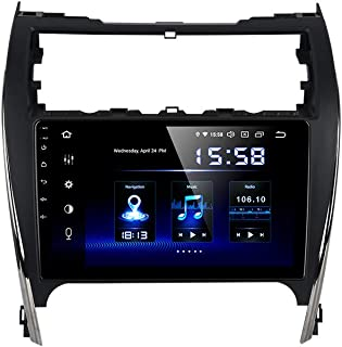 Dasaita Android 10.0 in-Dash Navigation Car Radio Carplay for Toyota Camry 2012 2013 2014 Single Din Car Stereo with GPS N...