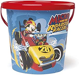 Smoby–Mickey Mouse Empty Bucket Diameter 17cm, 861010