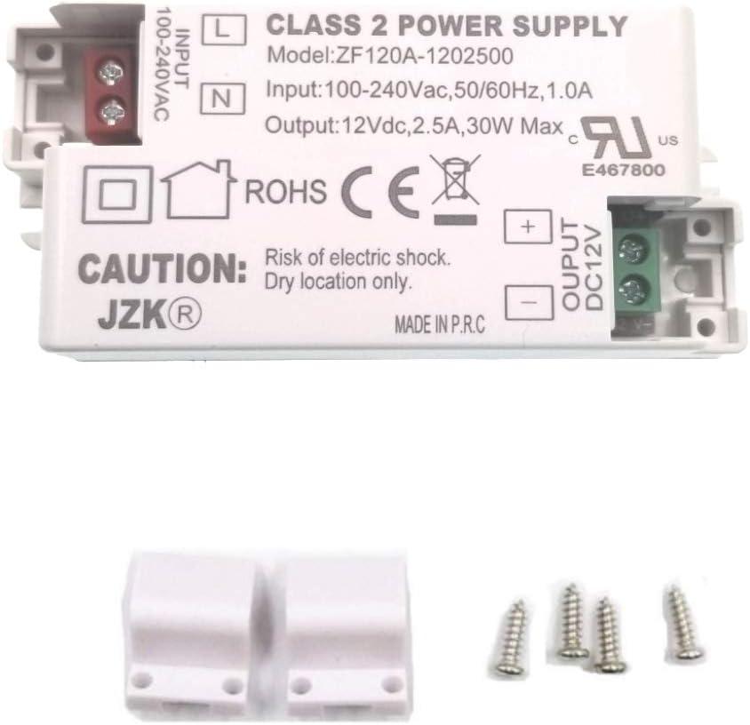 JZK LED Transformer Driver Manufacturer OFFicial shop Converter AC100-240V to Recommendation DC 3 2.5A 12v
