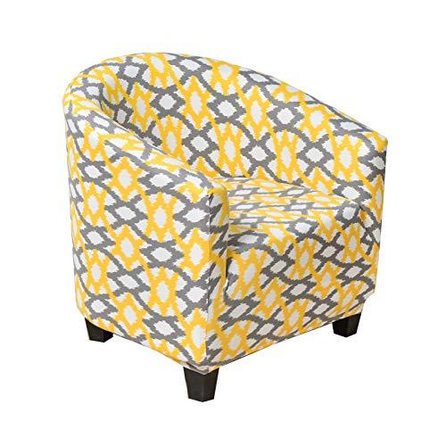 JUNGE La Cubierta de sofá de una Sola Silla de bañera es fácil de Instalar, Desmontable y Lavable, Cubierta de sofá Protectora (Color : Color 8)