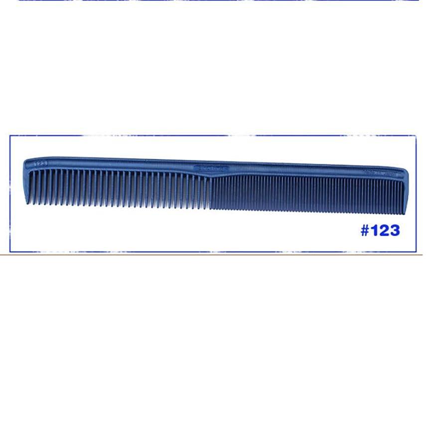 アジャ未使用五十Guomao 女性または男性のプラスチック製の櫛の極薄のハンドルの櫛のための専門の3D櫛 (サイズ : 123)
