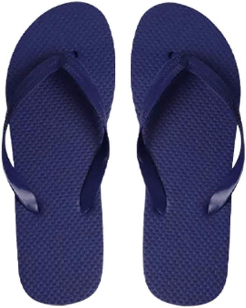 Basics Men's Solid Color Flip Flop Sandals