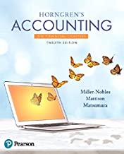 Horngren's Accounting, The Financial Chapters (12th Edition)