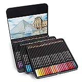 Lápices de colores 48/72 Colores de dibujo Herramientas de dibujo for colorear Escuela Pre-afilado Grasa Lápiz de color conjunto de dibujos Pintura Lápices Crayones para Colorear Adultos y Artistas
