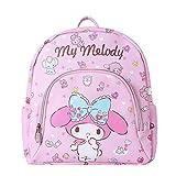 Tylyund Mochilas Sanrio Hello Kitty Mochila Para Niños Pequeña Mochila Escolar Moda Pu Bolso Lindo...