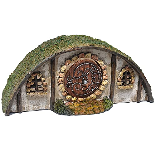 A Slice of Middle Earth: A Hobbit House Miniature for Garden