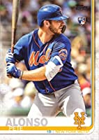 2019 Topps Baseball #475 Pete Alonso Rookie Card - Factory Set Photo Variation