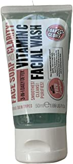 Soap & Glory, Face Soap and Clarity, 3 in 1 Daily Detox, Vitamin C, Facial Wash 1 fl oz