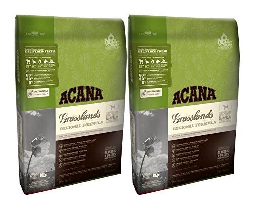Acana 2 x 11,4 kg Regionals Grasslands Dry Dog Food Multibuy